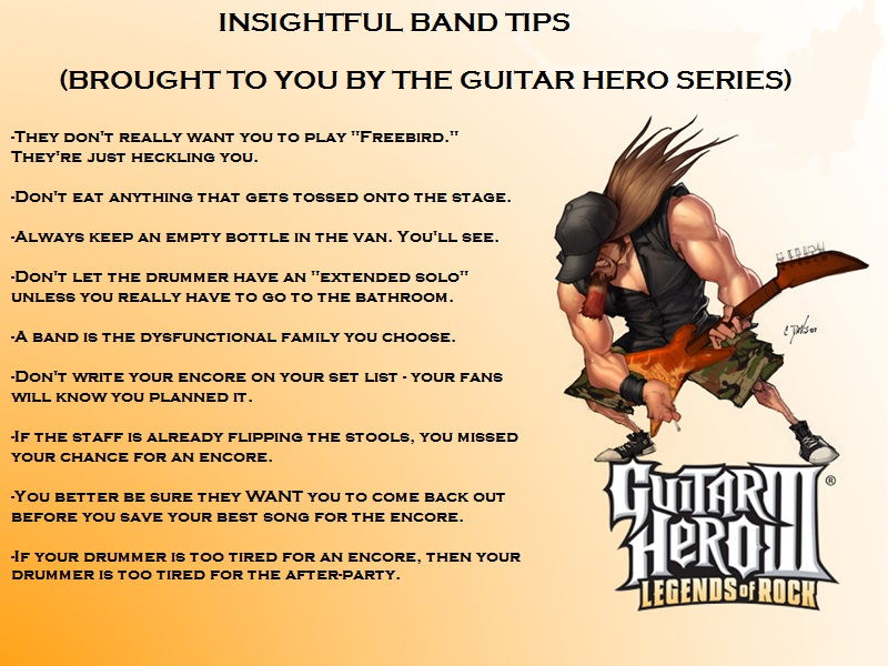 Guitar Hero Tips Part One