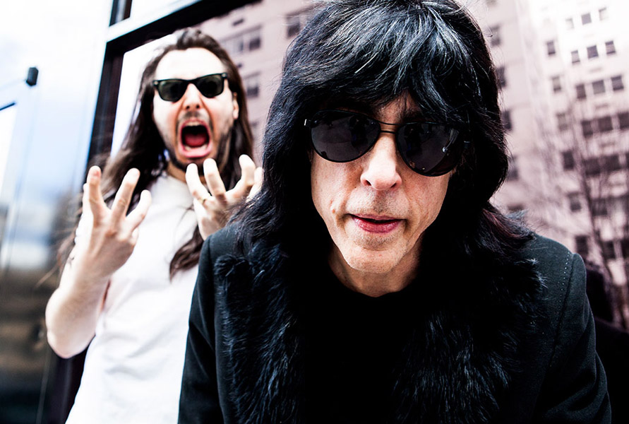 Andrew W.K. starts a bold new chapter with Marky Ramone in New York City