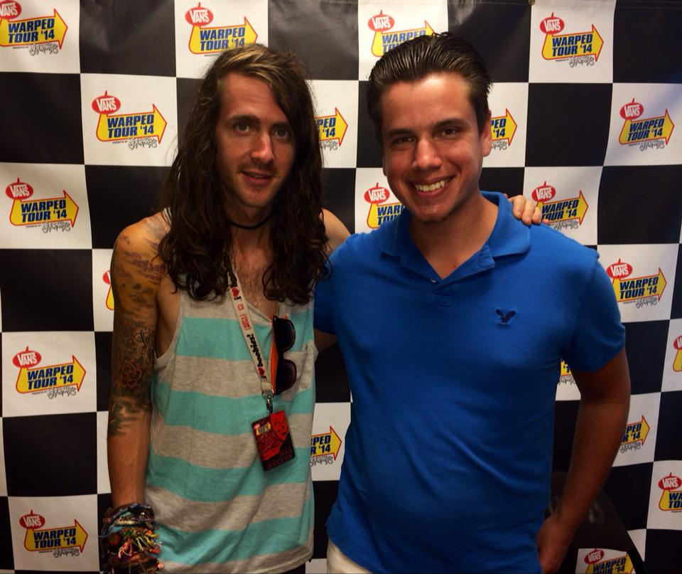 On The Line with Derek Sanders of Mayday Parade