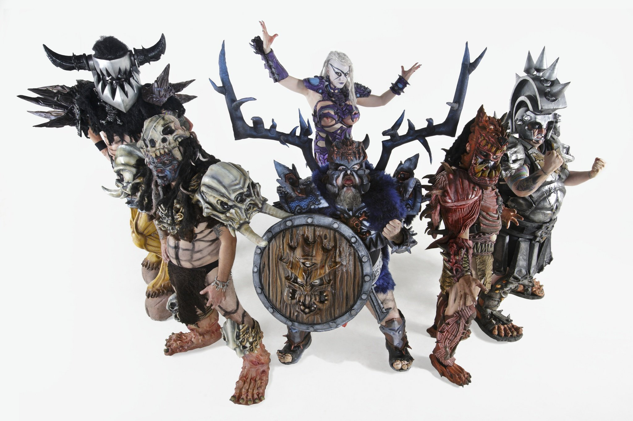 Sit Down Series: Blothar and Pustulus Maximus of GWAR