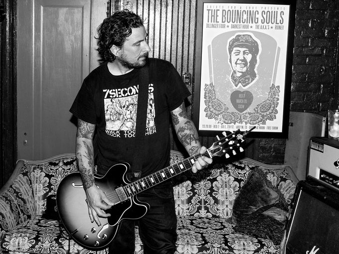 On The Line with Pete Steinkopf of The Bouncing Souls