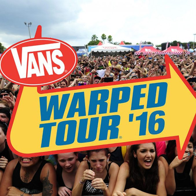 Episode 16: Warped Tour 2016 – Bret Bollinger and Johnny Christmas